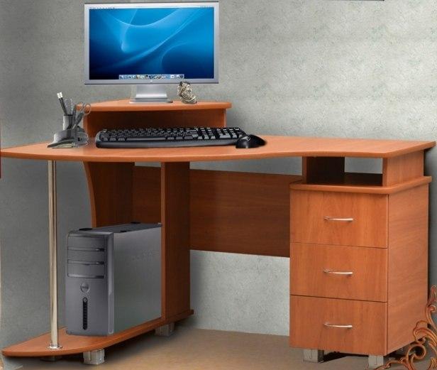 Компьютерный стол с письменным каталоги.