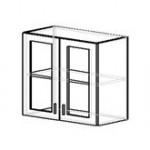ШН 1.6 Шкаф навесной со стеклом